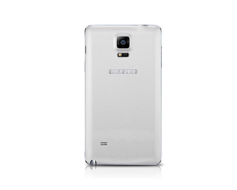 Whi   te Samsung Galaxy Note 4