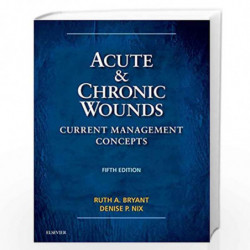Acute And Chronic Wounds Current Management Concepts 5Ed (Hb 2016) Book front cover (9780323316217)