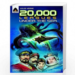 20,000 Leagues Under the Sea: The Graphic Novel (Campfire Graphic Novels) by JULES VERNE Book-9789380028415