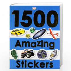 1500 Amazing Stickers by NA Book-9781405375337