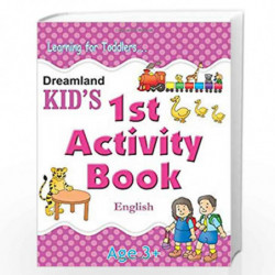 1st Activity Book - English (Kid's Activity Books) by Gurpreet Kaur Book-9788184513691