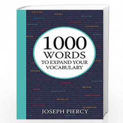1000 Words to Expand Your Vocabulary by PIERCY, JOSEPH Book-9781782439806