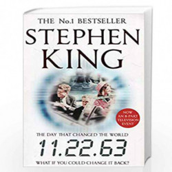 11.22.63 by STEPHEN KING Book-9781444727333