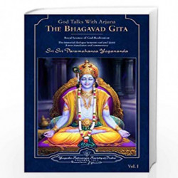 God Talks with Arjuna: The Bhagavad Gita (Set of 2 Volumes) by SRI PARAMAHANSA YOGANANDA Book-9788189535018