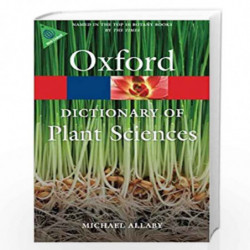 A Dictionary of Plant Sciences (Oxford Quick Reference) by MICHAEL ALLABY Book-9780199600571