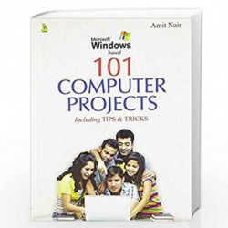 101 Computer Projects by AMIT NAIR Book-9788122315165