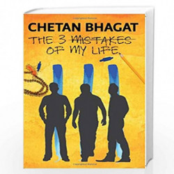 The 3 Mistakes of My Life by CHETAN BHAGAT Book-9788129135513