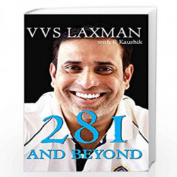 281 and Beyond by VVS Laxman Book-9789387578777