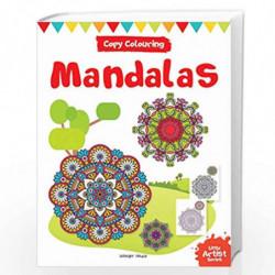 Little Artist Series Mandala: Copy Colour Books by Wonder House Books Editorial Book-9789388144025