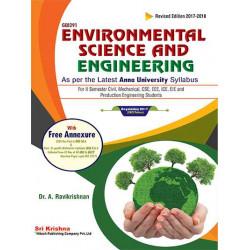 Environmental Science & Engineering by Ravikrishnan Book-9788190890809