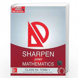 Sharpen your Mathematics - Class 12 by Hindustan Times Studymate book front cover (789339220273)