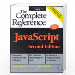 Javascript: the Complete Reference by Thomas Powell book front cover (780070590274)