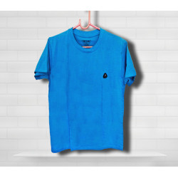 Tide and Sail Blue Plain Tee
