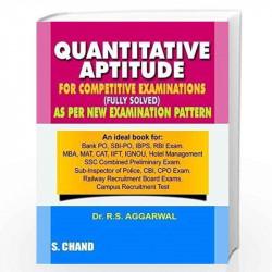 quantitative aptitude by rs aggarwal