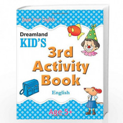 3rd Activity Book - English (Kid's Activity Books) by Dreamland Publications Book-9788184513776