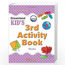 3rd Activity Book - Maths (Kid's Activity Books) by Dreamland Publications Book-9788184513783
