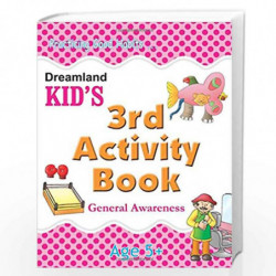 3rd Activity Book - General Awareness (Kid's Activity Books) by  Book-9788184513790