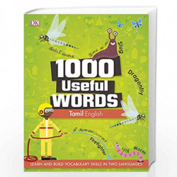 1000 Useful Words: Tamil-English by DK Book-9789388372275