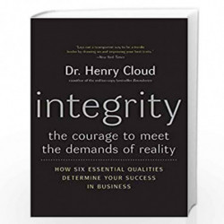 Integrit: The Courage to Meet the Demands of Reality by Henry Cloud Book-9780060849696