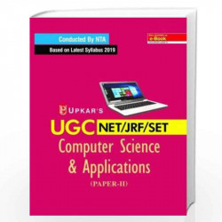 UGC NET/JRF/SET Computer Science and Applications: Paper II & III by Chandresh Shah Book-9788174825865