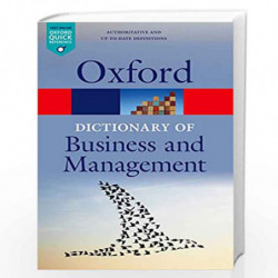 A Dictionary of Business and Management (Oxford Quick Reference) by Edited By Jonathan Law Book-9780199684984
