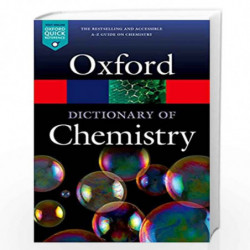 A Dictionary of Chemistry (Oxford Quick Reference) by Edited By Rennie & Law Book-9780198722823
