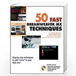 50 Fast Dreamweaver          MX Techniques (50 Fast Techniques Series) by Janine Warner
