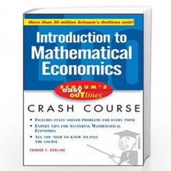 Schaum's Easy Outline of Introduction to Mathematical Economics by Edward Dowling Book-9780071455343