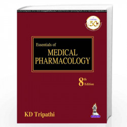 KD Tripathi's Essentials of medical pharmacology 9789352704996
