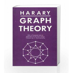 Graph Theory by Frank Harary Book-9788185015552