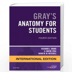 Gray's Anatomy for Students International Edition by Drake R.L. Book-9780702051326
