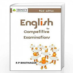 English for Competitive Examinations by R.P.Bhatnagar - Book-9789351381129
