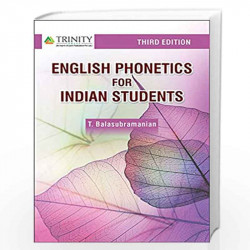 Texbook of English Phonetics For Indian Students 2/e by Balasubramanian T Book-9789380644943