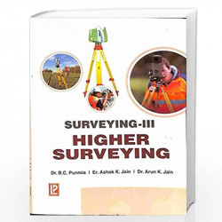 Surveying - Vol. 3 (Higher Surveying) by - Book-9788170088257