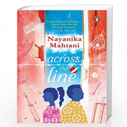 Across the Line by Nayanika Mahtani Book-9780143446033