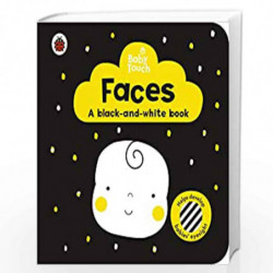 Baby Touch: Faces: a black-and white-book by LADYBIRD Book-9780241391723