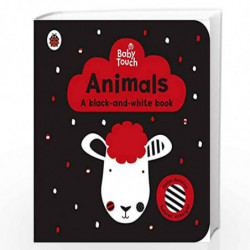 Baby Touch: Animals: a black-and-white book by LADYBIRD Book-9780241391730