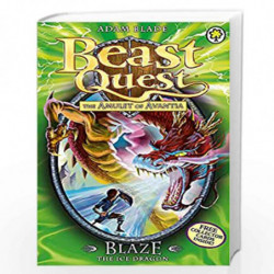 Blaze the Ice Dragon: Series 4 Book 5 (Beast Quest) by NA Book-9781408303818