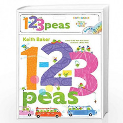 1-2-3 Peas: Book & CD (The Peas Series) by BAKER, KEITH Book-9781534418455