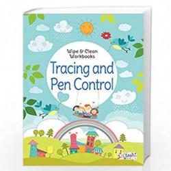 Tracing and Pen Control - Wipe & Clean Workbook with free Pen by NA Book-9788131940105