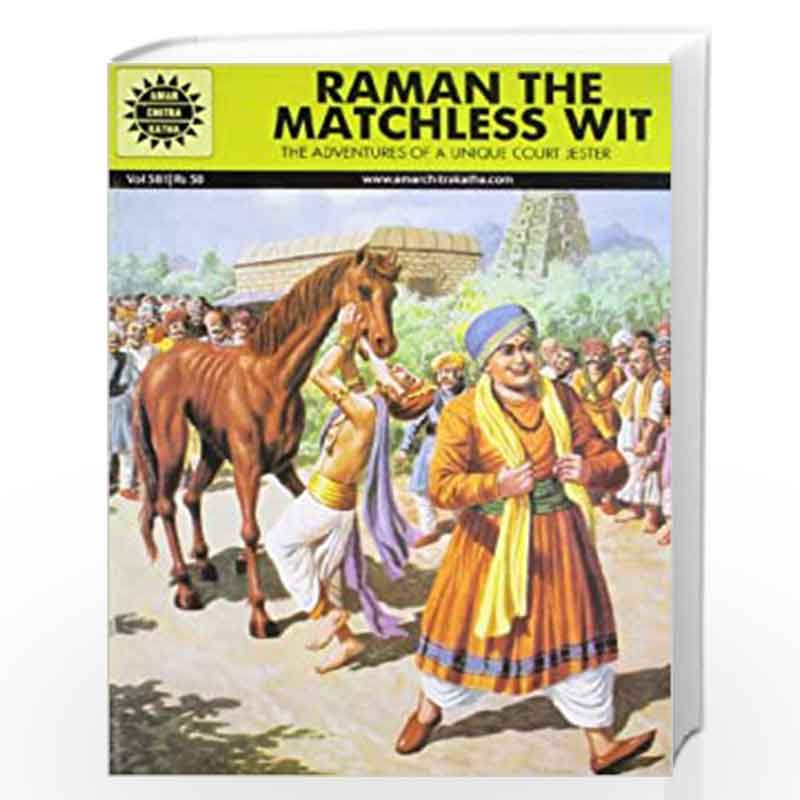 Raman The Matchless Wit (581) by NA Book-9788189999605