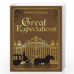 Great Expectations (Deluxe Hardbound Edition) by CHARLES DICKENS Book-9789388369176
