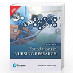 Foundations in Nursing Research | Sixth Edition | By Pearson by NIESWIADOMY R.M. Book-9789353437770