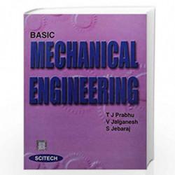 Basic Mechanical Engineering by Prabhu et.al.  Book-9788183715737