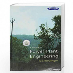 A Textbook on Power Plant Engineering by Ramalingam  Book-9788183715256