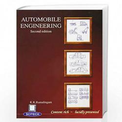 Automobile Engineering by Ramalingam  Book-9788183715744