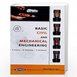 Basic Civil and Mechanical Engineering by Selvaraj et.al.  Book-9788183715317