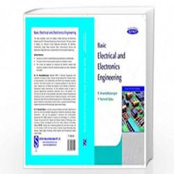 Basic Electrical and Electronics Engineering by Anandanatarajan et.al.  Book-9788183716901