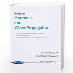 Antennas and Wave Propagation by Soundararajan et.al.  Book-9788183715010
