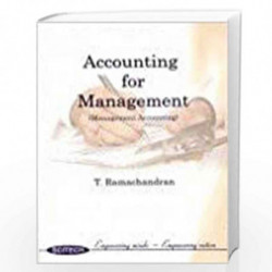 Accounting For Management by Ramachandran  Book-8187328398
